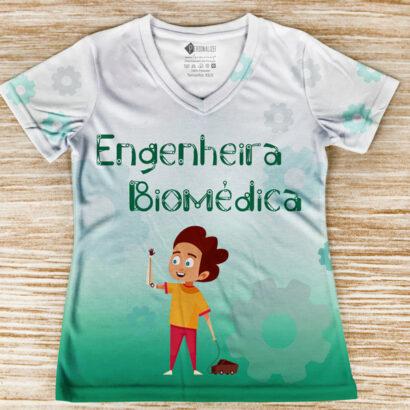 T-shirt profissão/curso Engenheira Biomédica comprar em portugal