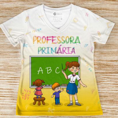 T-shirt profissão/curso Professora Primária comprar