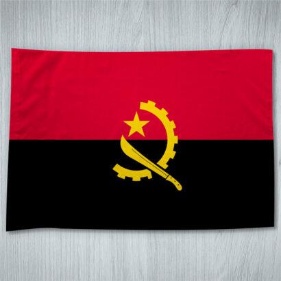 Bandeira da Angola 70x100cm foto real