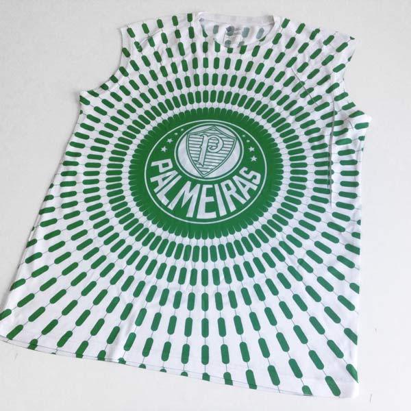 Camisola Cava Regata Palmeiras personalizada com nome envio portugal