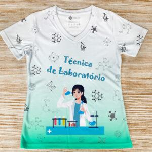 T-shirt profissão/curso Técnica de Laboratório em portugal