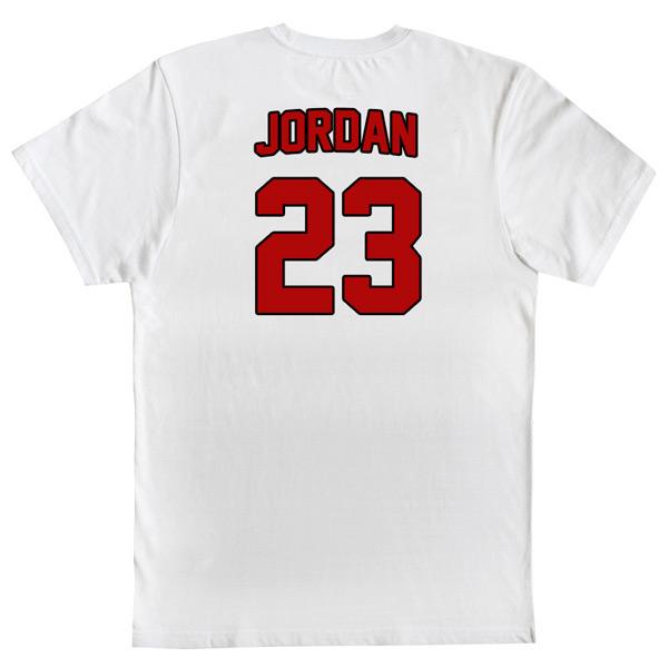 T-shirt Michael Jordan 23 Chicago Bulls NBA Branca 23