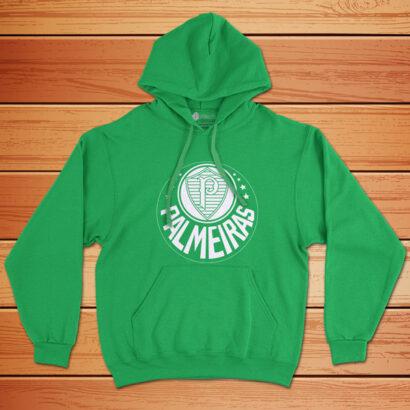 Moletom Palmeiras Sweatshirt com capuz Unisex verde