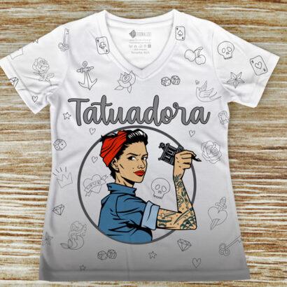 T-shirt profissão/curso Tatuadora comprar em portugal