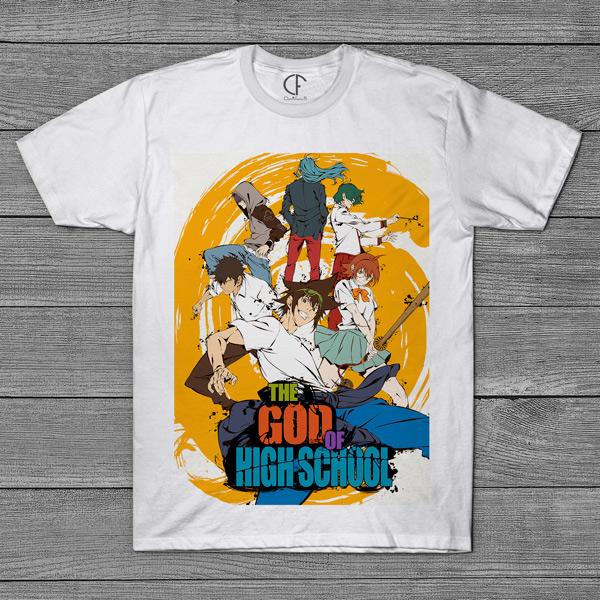 The God of High School T-shirt Homem preço