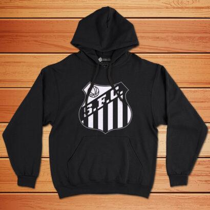 Moletom Santos FC Sweatshirt com capuz Unisex preto comprar