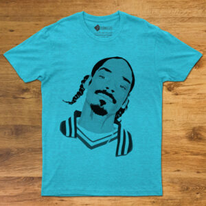 T-shirt Snoop Dogg Unisex azul