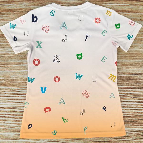 T-shirt profissão/curso Terapeuta da Fala costas