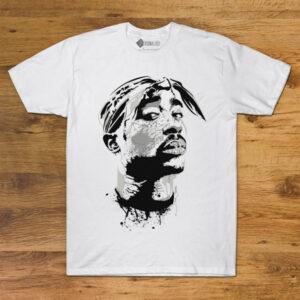 T-shirt Tupac Shakur Branca comprar em portugal