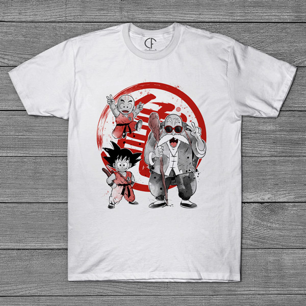Dragon Ball T-shirt camiseta homem em portugal