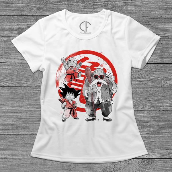 Dragon Ball T-shirt mulher