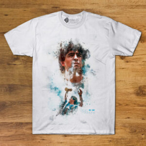 T-shirt Diego Maradona Homenagem Branca Unisex comprar em Portugal