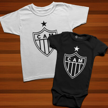 T-shirt/Body Atlético Mineiro para bebé e criança comprar em portugal