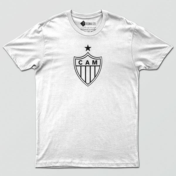 T-shirt/Body Atlético Mineiro para bebé, criança e adulto Branca
