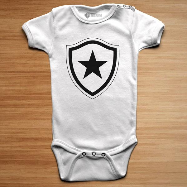 T-shirt/Body Botafogo para bebé e criança camiseta e body