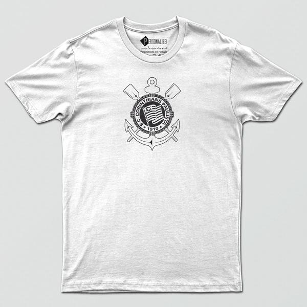 T-shirt/Body Corinthians para bebé, criança e adulto branca comprar