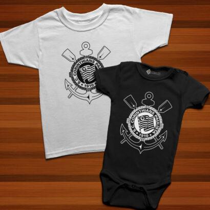 T-shirt/Body Corinthians para bebé e criança comprar em portugal