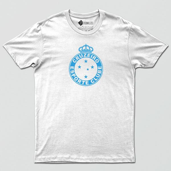 T-shirt/Body Cruzeiro para bebé, criança e adulto branca