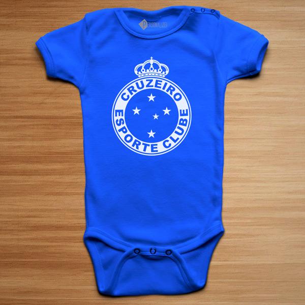 T-shirt/Body Cruzeiro para bebé e criança