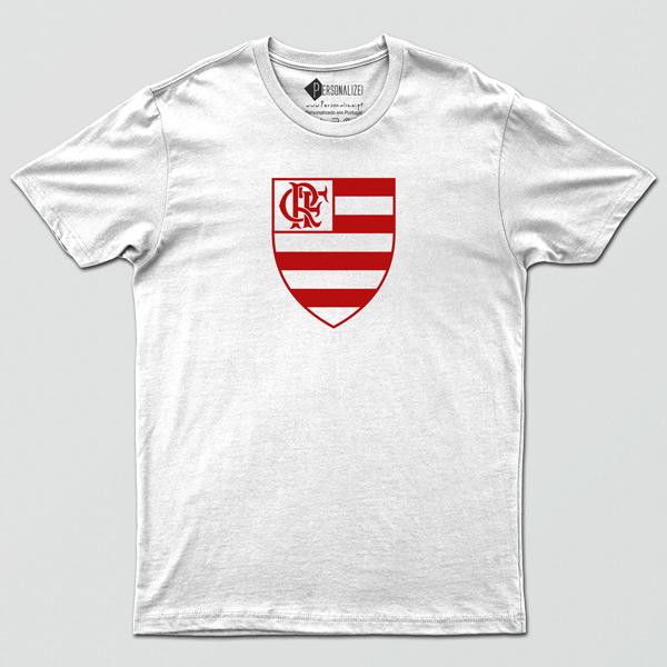 T-shirt/Body Flamengo para bebé, criança e Adulto branca