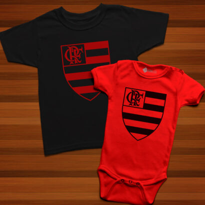 T-shirt/Body Flamengo para bebé e criança comprar em portugal