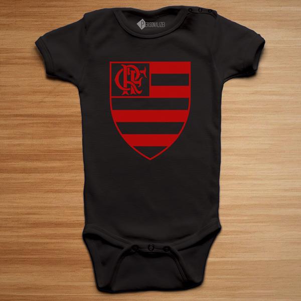 T-shirt/Body Flamengo para bebé e criança