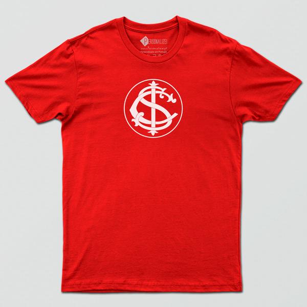 T-shirt/Body Internacional para bebé, criança e adulto vermelha