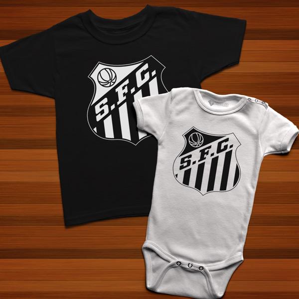 T-shirt/Body Santos FC para bebé e criança comprar em portugal