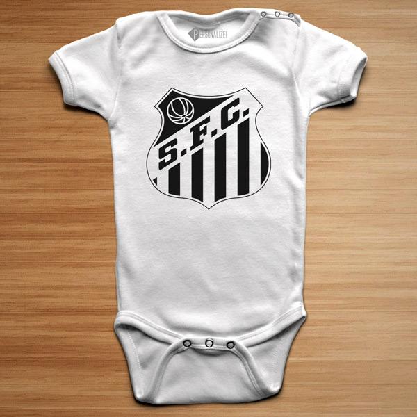 T-shirt/Body Santos FC para bebé e criança branco