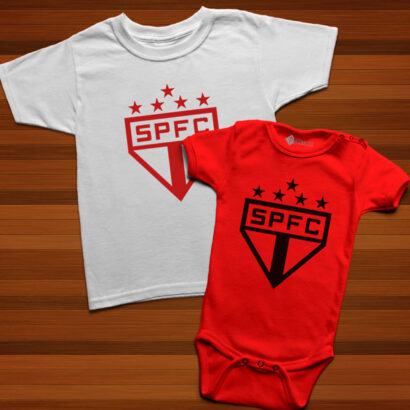 T-shirt/Body São Paulo para bebé e criança comprar em portugal