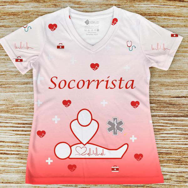 T-shirt profissão/curso Socorrista comprar em portugal