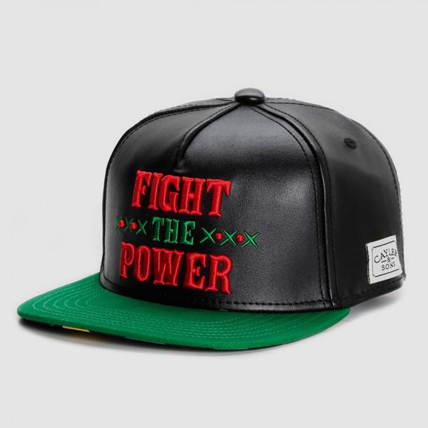 Boné Cayler & Sons Fight Back chapéu pala reta snapback