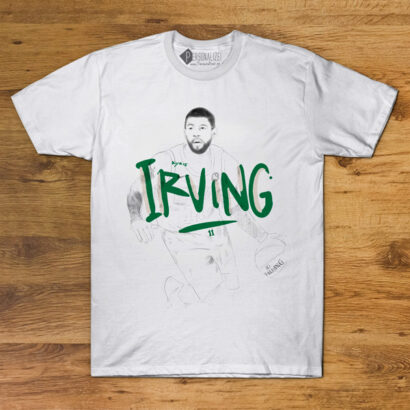 T-shirt Kyrie Irving 11 Boston Celtics NBA Branca comprar em Portugal
