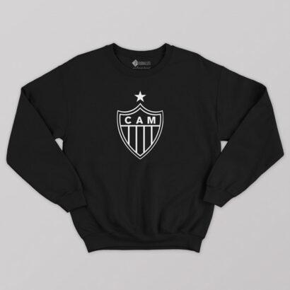Sweatshirt do Atlético Mineiro Moletom sem capuz Unisex comprar em Portugal
