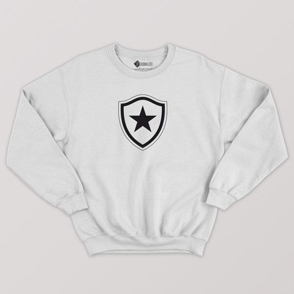 Sweatshirt do Botafogo sem capuz Unisex branco