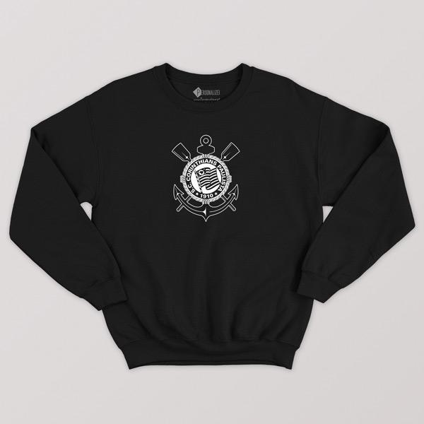 Sweatshirt do Corinthians sem capuz Unisex preço