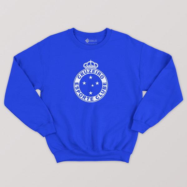 Sweatshirt do Cruzeiro Moletom sem capuz Unisex comprar em Portugal