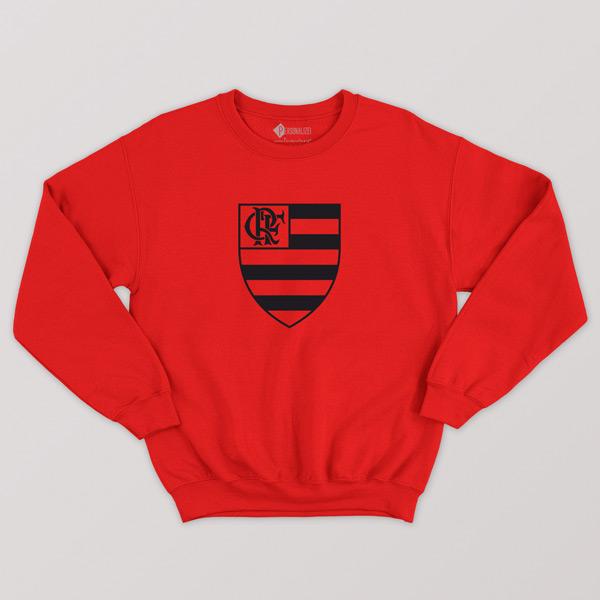 Sweatshirt do Flamengo sem capuz Unisex comprar em Portugal