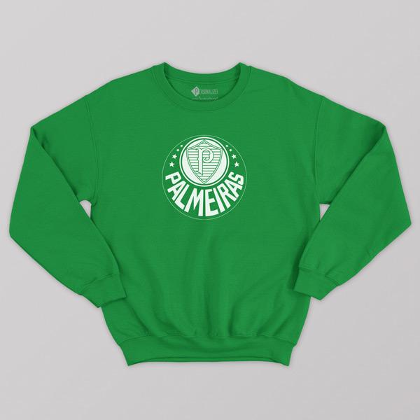 Sweatshirt do Palmeiras Moletom sem capuz Unisex verdão comprar