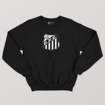 Sweatshirt do Santos FC Moletom sem capuz Unisexcomprar