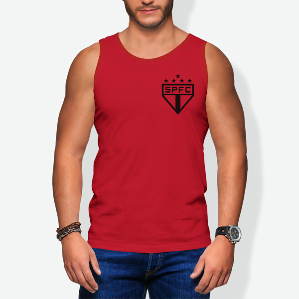 Caveada São Paulo FC regata sem mangas comprar camiseta