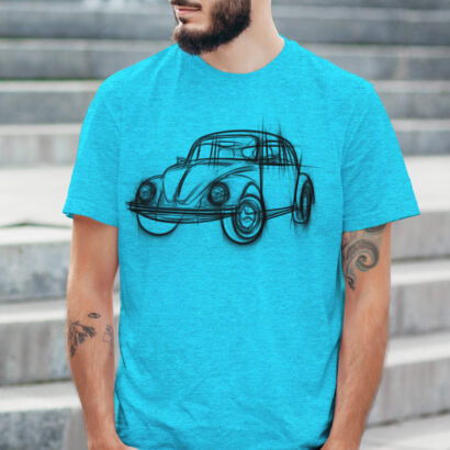 T-shirt Volkswagen Fusca camiseta manga curta