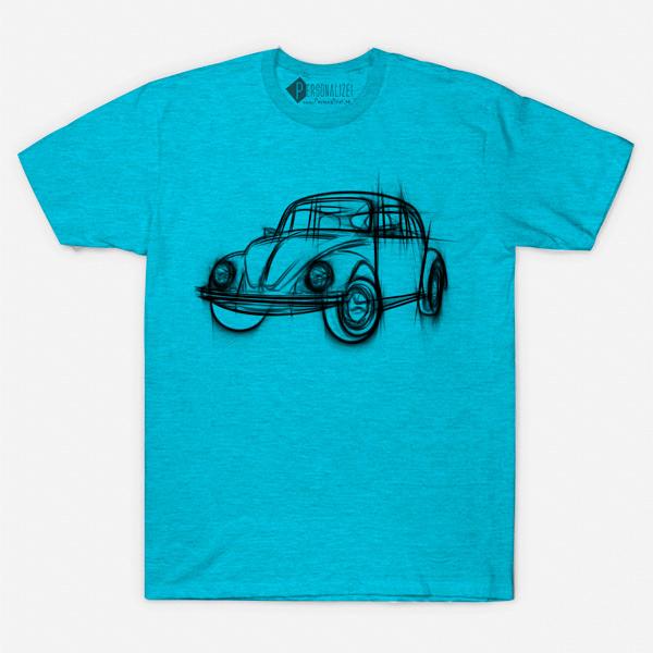 T-shirt Volkswagen Fusca camiseta manga curta comprar